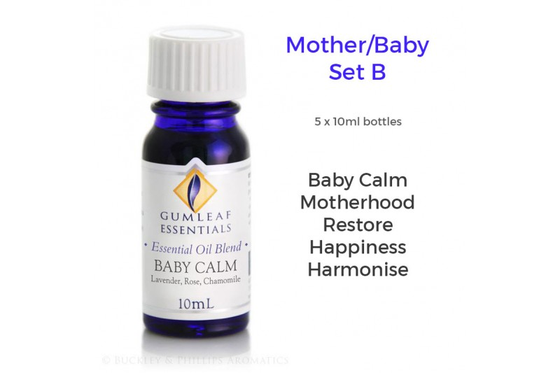 Essential Oil Blend : Mother/Baby : Set B