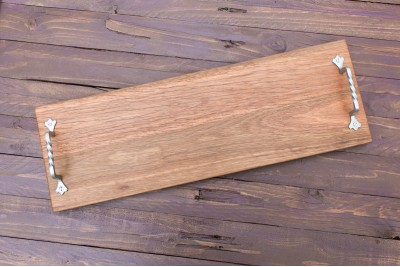 Rustic Wooden Serving Platter : Spotted Gum : Grazing Platter