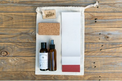 Timber Board Care Kit :  Jojoba Oil plus Accessories