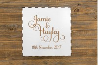 Wedding/Engagement Box : Names