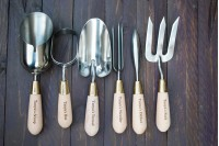 Ultimate Gardening Gift Pack : Set of 6 Stainless Steel Tools